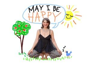 May I Be Happy art